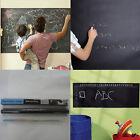 Black 45x200/100cm Chalk Board Removable Vinyl Decals Blackboard Kids Rooms New
