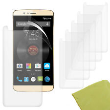 5 Pack PET Film Screen Protector Guard For Elephone P8000