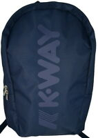 Zaino Uomo Donna Blu K-Way BackPack Men Woman K-Jet K1V050 NAVY