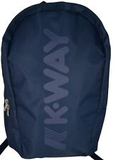 Zaino Uomo Donna Blu K-Way BackPack Men Woman K-Jet K1V050 NAVY
