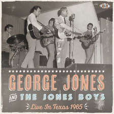 GEORGE JONES & THE JONES BOYS-LIVE IN TEXAS 1965-IMPORT CD WITH JAPAN OBI F04