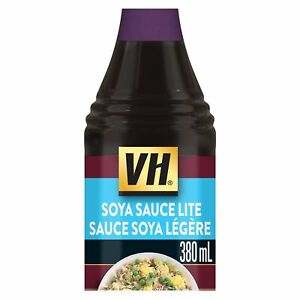 3 VH Lite Soya Cooking Sauce LARGE Size 380ml/12oz- Canada FRESH!