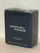 ORIFLAME SWEDEN VENTURE POWER (AROMATIC - FOUGERE) EDT SPRAY 100 ml NEW-SEALED!