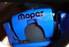 MOPAR Brake Caliper High Temp Vinyl Decal Stickers Set Of 6 (Any Color)
