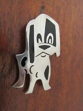 Mexican Sterling Silver Puppy Dog Brooch Pin
