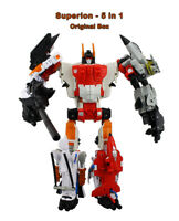 Transformers Superion(5in1)Complete Combiner Wars Figure Toys