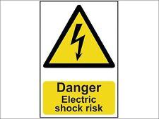 Scan - Danger Electric Shock Risk - PVC 200 x 300mm