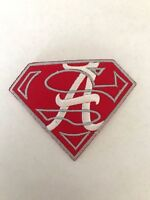 Alabama Crimson Tide Super Logo Jersey Patch Iron On Sew Shirt Jacket *Pre Order