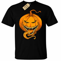 Halloween Evil Pumpkin T-Shirt Mens