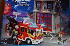 Playmobil City Action 9052 Feuerwehr Megaset mit Pumpe  NEU