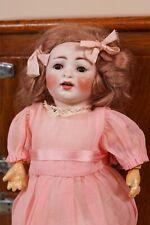 "11"" Antique Hertel Schwab 152 2/0 German Bisque Doll Project Needs Stringing Tlc"