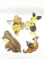 Disney Characters Wooden Wall Art, Winnie the Pooh, Piglet, Eeyore, and Tiger