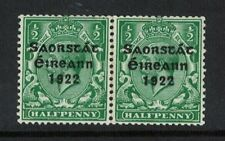 ireland stamps 1/2d green coil join - 1922 issue - Mint  Irish free state sg67