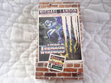 I WAS A TEENAGE WEREWOLF VHS MICHAEL LANDON WHIT BISSELL 50'S HORROR CLASSIC B&W