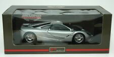 UT Models McLaren F1 Road Rare Silver 1:18 Die Cast In Box US Seller