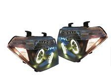 Headlight Set Black For Nissan Pathfinder R51 2005-2010