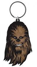 Chewbacca head - Star Wars - Gummi Schlüsselanhänger / rubber keychain