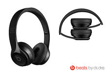 NEW OPEN Apple Beats by Dr. Dre Solo3 Wireless Headphones A1796 MNEN2LL BLACK