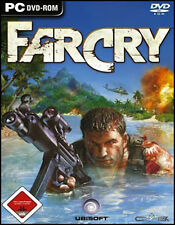 Far Cry 1 (PC Game) (32bit ONLY) (CD ROM) (DVD ROM)