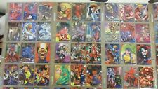 1995 Marvel Annual Complete Trading Card Set Flair w/ All Chase Sets in Sleeves