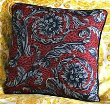 AUTHENTIC VERSACE WILD BAROCCO SILK PILLOW