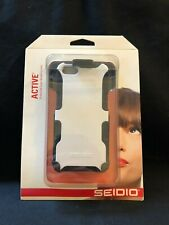 Seidio DILEX Combo Glossed White Case for iPhone 5 / 5s Bd2-hk3iph5-gl