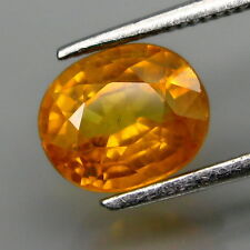 1.40Ct. NATURAL Yellow Sapphire Africa Very Good Luster!!! 15-7-45