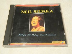 Neil Sedaka Happy Birthday Sweet Sixteen CD [Rainbow Music]