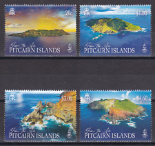 PITCAIRN 2018 YEAR SET ALL 7 ISSUES SUPER MNH