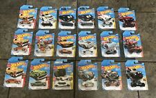 NEW! Huge Lot Of 18 2017/2018 Hot Wheels Collectible Die Cast Cars Toys NEW