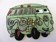 Hippy Bus Embroidered Iron On Applique 3101-Y