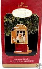 Hallmark Keepsake Club Ornament 1997 Away to the Window Collector's Club