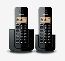 Panasonic KXTGB112ALB Digital Cordless Phone with 2 Handsets