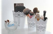 MAKE UP BRUSH HOLDER POTS SET OF 3...1 X LARGE X 2 SMALL FREE DELIVERY UK SELLER