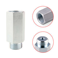 1Pc Oxygen Sensor Extender Spacer O2 Sensor Silver For M18 Decat Hydrogen Iron