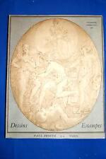 CATALOGUE DESSINS ANCIENS PAUL PROUTE 1968