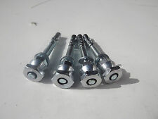 4x8mm Security Bolts and Shear Nuts Ideal for garage ground anchors bikes cycles