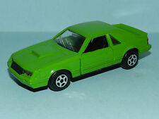 REPAINT Norev 1/43 DJR Look alike Green Tuff  Mustang  LHD with decals supplied