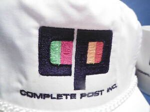 VINTAGE~COMPLETE POST INC.~ADJUSTABLE  BACKSTRAP CAP, COFFEE CUP & PLATE ~ LOT