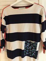 Stella McCartney Contrast Stripe Jersey Top