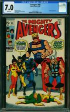 Avengers #68 CGC 7.0 -- 1969 -- Black Panther. Vision. Ultron-6 #2032214003