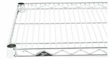 Stainless Steel Wire Shelf 14 X 30 3 Shelves Metro 1430ns Super Erecta
