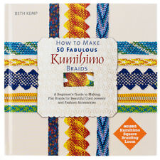 How To Make 50 Fabulous Kumihimo Braids Book Beth Kemp