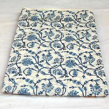 Indian Floral 10 Yard Hand Block Printed Traditional 100% Pure Cotton Fabric #
