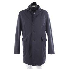 Moncler Abrigo de Invierno Talla 54/5 Azul para Hombre Coat Exterior Classic