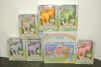 My Little Pony 35th Anniversary Set of 7 - NIB - Peachy, Snuzzle, Minty, + MORE