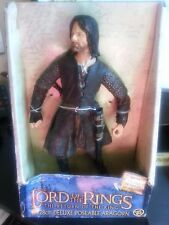 """Lord of the Rings ARAGORN 11"""" Deluxe Figure 2003 Toy Biz"""