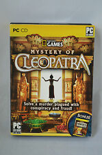 NatGeo Adventures: Mystery of Cleopatra and Bonus Herods Lost Tomb PC NEW #RR