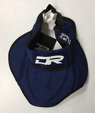 New DR PGBN bib throat protector senior large/XL hockey player neck guard blue