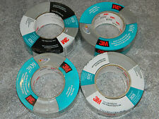 """(4) BRAND NEW ROLLS 3M 06975 INDUSTRIAL SILVER 3939 DUCT TAPE 2"""" INCH x 60 YARDS"""